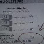 Calcolo consumo stufa elettrica