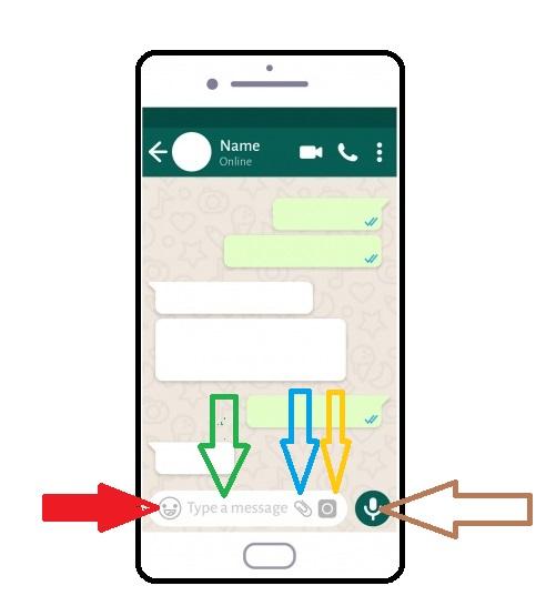 Invia messaggio whatsapp
