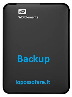 Backup che cos'è