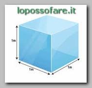 Il metro cubo