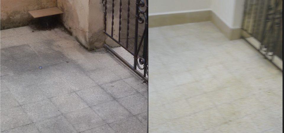 Come togliere le macchie di ruggine dal pavimento