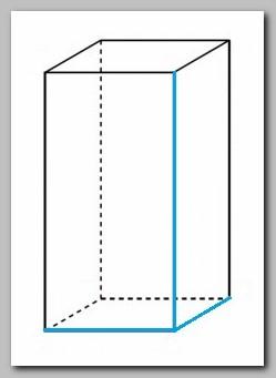 Calcola il volume del prisma