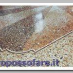 Pavimento graniglia rovinato : cosa fare