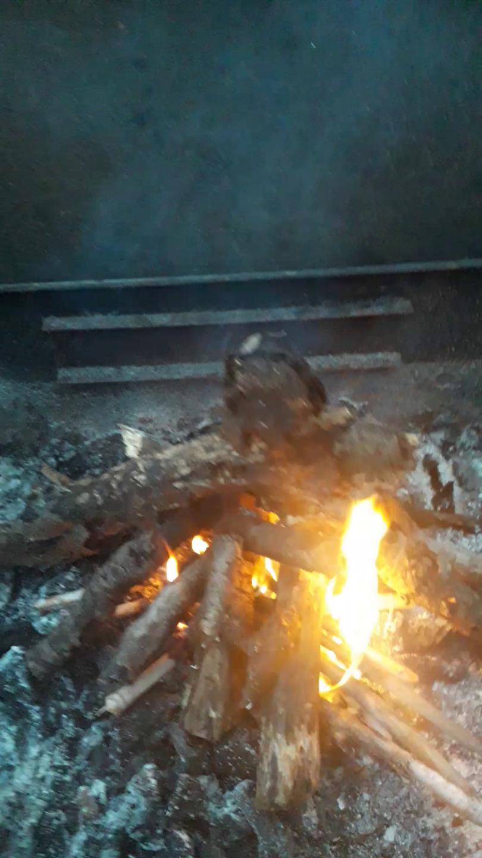 Come accendere il fuoco