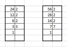 M.C.D e m.c.m  massimo comune divisore e minimo comune multiplo