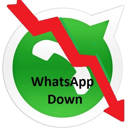whatsapp down perché non funziona